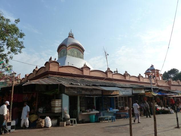 Kalighat Temple With Bazaar