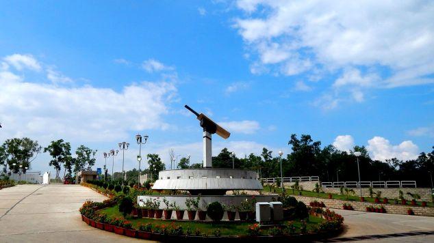 JSCA International Cricket Stadium Entrance Jharkhand