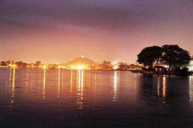 Ranchi Lake Night