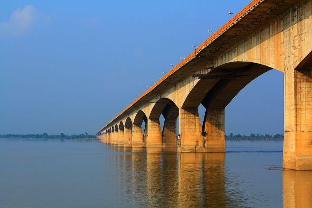 Gandhi Setu Bridge In Patna