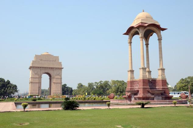 Delhi India Gate And Canopy