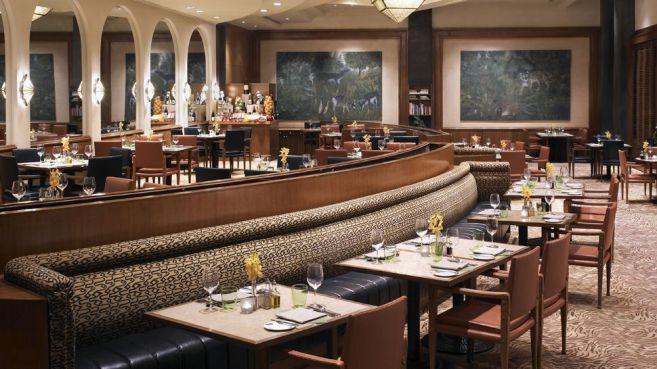 Dining Room at Taj Mahal Hotel Delhi