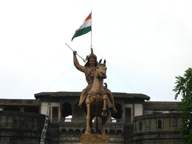 Bajirao Statue Shaniwar Wada Pune