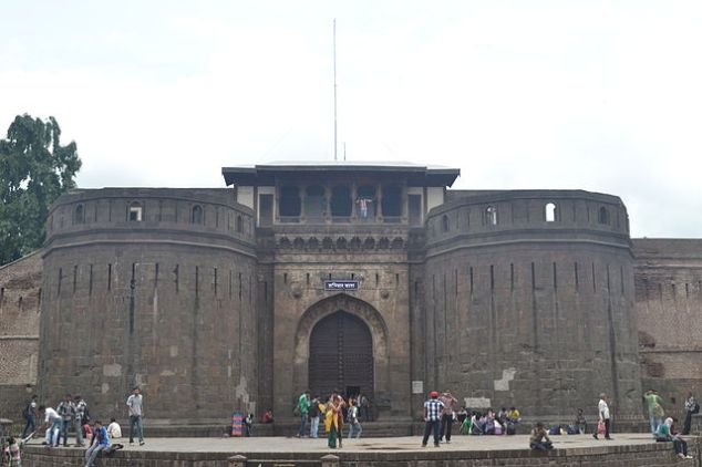 The Entrance Of Shaniwar Wada