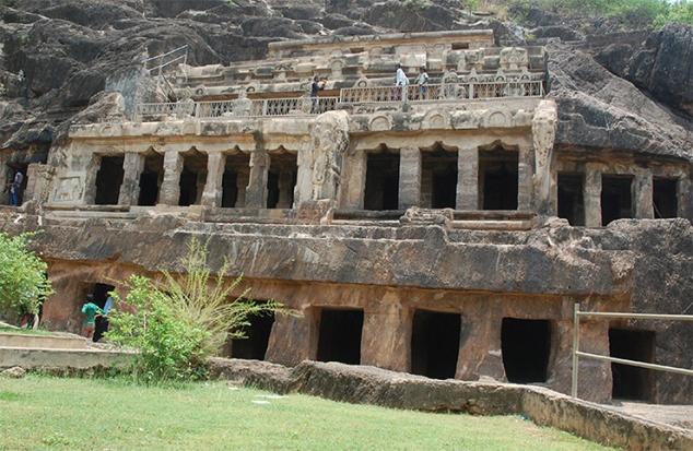 Undavalli Caves Visakhapatnam