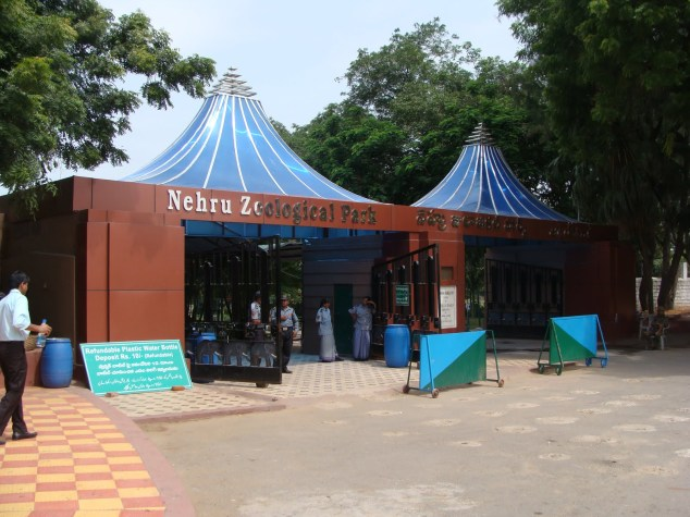 Nehru Zoological Park Hyderabad Entance