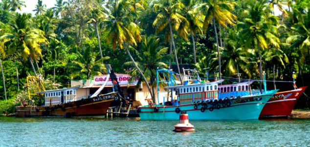 view-of-Backwaters-of-Kollam